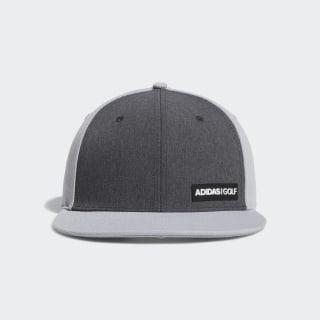 Heathered Flat-Bill Hat Grey DT2193
