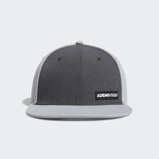 Heathered Flat-Bill Hat Grey Two DT2193