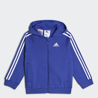 Толстовка Favourite Full Zip hi-res blue s18 / white CF7437