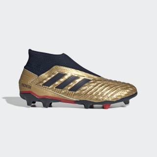 Predator 19.3 Firm Ground Zinédine Zidane Cleats Gold Metallic / Collegiate Navy / Predator Red EE4236