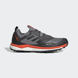 Terrex Agravic XT GORE-TEX Trail Running Shoes Grey Three / Core Black / Active Orange EE9570