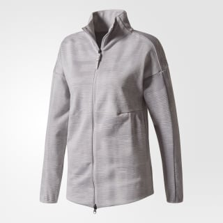 adidas Z.N.E. Pulse Jacquard Cover-up Grey Two BS4908
