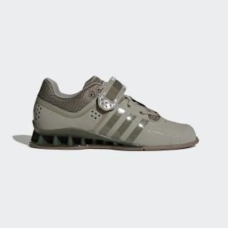 Chaussures haltérophilie adiPower Steel / Steel / Gum DA9874
