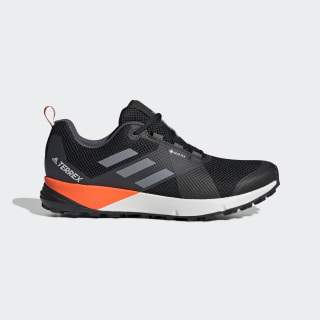 Terrex Two GTX Shoes Core Black / Grey / Solar Orange EF1437