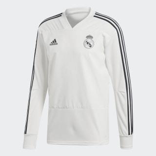 Real Madrid Training Top Core White / Tech Onix CW8664