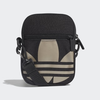 Adicolor Large Trefoil Festival Bag Black / Gold Metallic FT8918