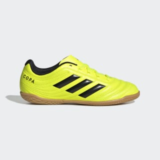 Chuteira Copa 19.4 Futsal Solar Yellow / Core Black / Solar Yellow F35451