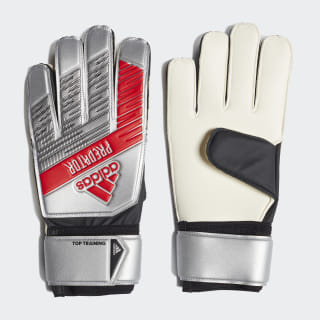 Вратарские перчатки Predator Top Silver Metallic / Black DY2606