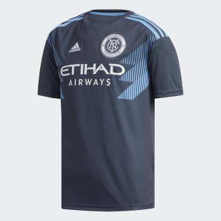 New York City FC Away Jersey Blue / Bahia Light Blue / White CE3256