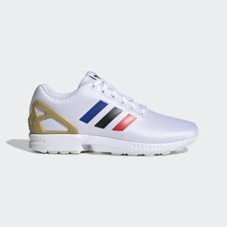 ZX Flux Shoes Cloud White / Core Black / Team Royal Blue FV7918