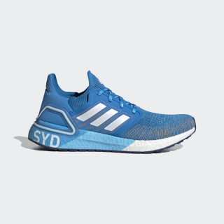 ULTRABOOST 20 City Pack Hype Bright Blue / Cloud White / Cloud White FX7814