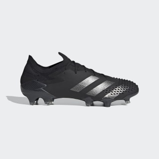 Predator Mutator 20.1 Firm Ground Voetbalschoenen Core Black / Core Black / Silver Metallic EF2205