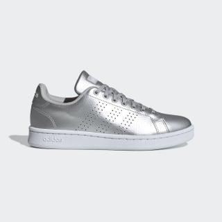 Advantage Shoes Matte Silver / Cloud White / Grey Two EE8197