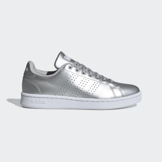 Tenis Advantage matte silver/ftwr white/GREY TWO F17 EE8197
