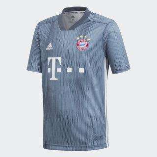 Camiseta Bayern 3 Niño 2018 RAW STEEL S18/UTILITY BLUE/WHITE DP5451