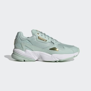 Tenisky Falcon Green Tint / Gold Metallic / Cloud White FV5092