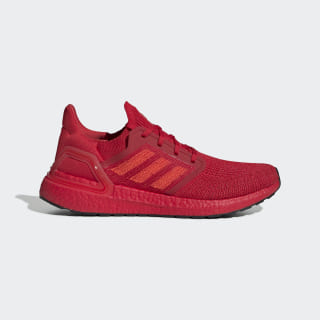 Кроссовки для бега Ultraboost 20 Scarlet / Solar Red / Boost Scarlet EG0700