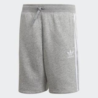 Shorts Felpa MEDIUM GREY HEATHER/WHITE DH2707