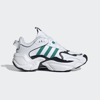 Magmur Runner Shoes Cloud White / Glory Green / Legend Ink EF5086