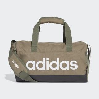 Linear Duffel Bag Legacy Green / Black / White FS6500