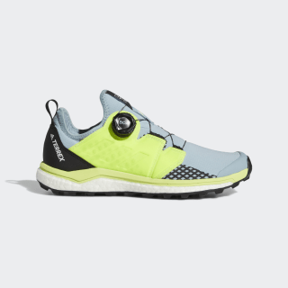 Terrex Agravic Boa Shoes Ash Grey / Solar Yellow / Core Black BC0541