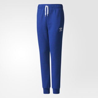 Trefoil Fleece Tiro Pants Blue/Mystery Ink/White BQ3954