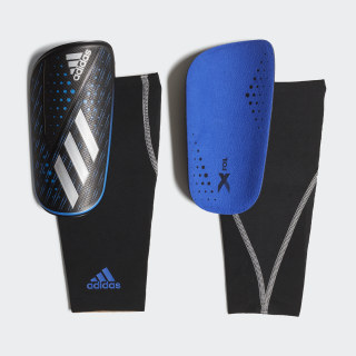 X Foil Shin Guards Bold Blue / Black DN8622