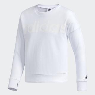 Cropped Sweatshirt White CK5130