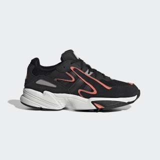 Chaussure Yung-96 Chasm Core Black / Core Black / Semi Coral EE7544