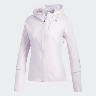 Chamarra Response Hooded Wind Aero Pink CW1684