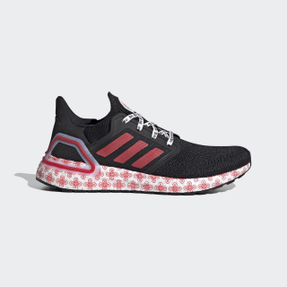 Ultraboost 20 Shoes Core Black / Glory Red / Cloud White FX8886