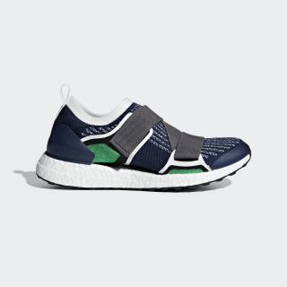 Ultraboost X Shoes Night Indigo / Granite / Vivid Green BC0308