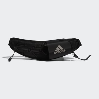 RUN BOTTLE BAG Black / Silver Metallic DY5726