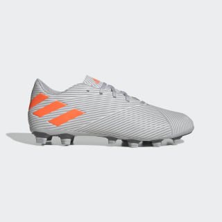 Calzado de Fútbol Nemeziz 19.4 Multiterreno Grey Two / Solar Orange / Chalk White EF8292