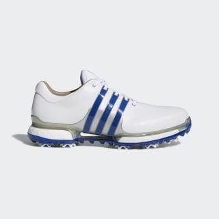 Tour 360 Boost 2.0 Shoes Cloud White / Collegiate Royal / Silver Metallic F33626