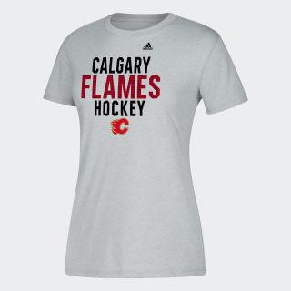 T-shirt Flames Hockey Nhl-Cfl-5am / Medium Grey Heather DP7753