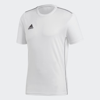Camisa Core 18 Treino White / Black CV3453
