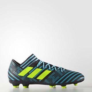 Calzado de Fútbol Nemeziz 17.3 Terreno Firme LEGEND INK F17/SOLAR YELLOW/ENERGY BLUE S17 S80601
