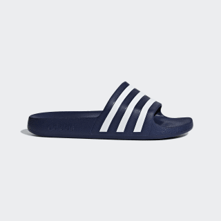 Adilette Aqua Sandaler Dark Blue / Cloud White / Dark Blue F35542
