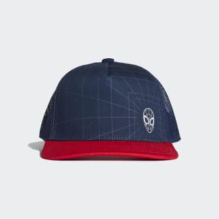 Marvel Spider-Man Cap Collegiate Navy / Collegiate Navy / Silver Met. EC3039