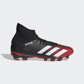 Chaussure Predator 20.3 Multi-surfaces Core Black / Cloud White / Active Red EF1999