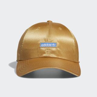 Metallic Relaxed Strap-Back Hat Beige CK5064