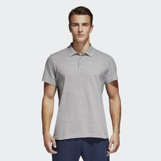 Essentials Basic Polo Tişört Medium Grey Heather S98750