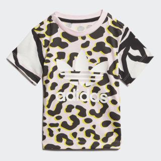 T-shirt LZ Multicolor / Clear Pink / Black FM9984