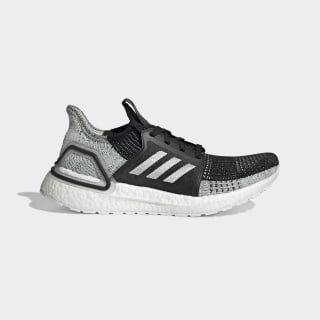 Ultraboost 19 Shoes Core Black / Linen Green / Ash Green G27484