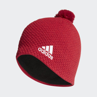 Graphic Beanie Active Maroon / White DY4912
