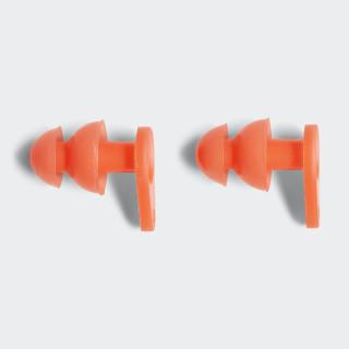 Plavecké špunty do uší Solar Red / White CV4006