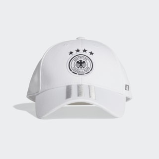 DFB Baseball Kappe White / Light Solid Grey / Black FJ0826