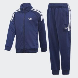 Flamestrike Track Suit Dark Blue / White DV2867