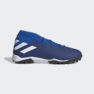 Chuteira Nemeziz 19.3 Society Football Blue / Cloud White / Core Black F34429